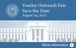 Vendor Outreach Fair - Save the Date - August 24, 2017