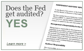 Does the fed get audited?