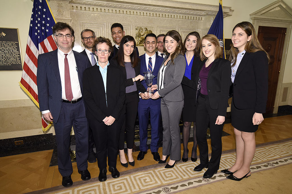 Pace University won the 14th annual national College Fed Challenge.